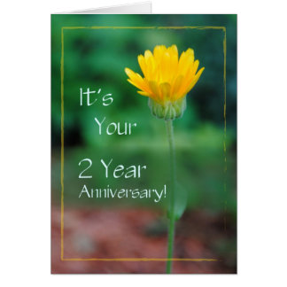 2 Year Anniversary, Addiction Recovery Greeting Card