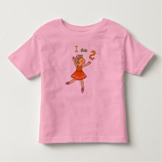 2 year old ballerina toddler T-Shirt