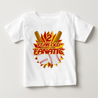 2 Year Old Baseball Fanatic Shirts