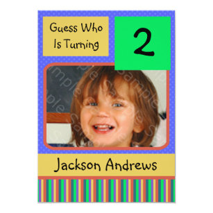 2 year old birthday invitations announcements zazzle 2 year old birthday party invitations boy filmwisefo