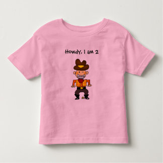 2 year old cowboy toddler T-Shirt