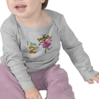 2 year old princess fairy tee shirt