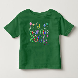 2 Year Olds Rock ! T-shirt