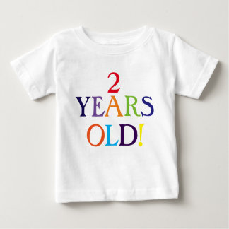 2 years old cute baby one piece t-shirts