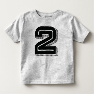 2 Years Old Toddler T-Shirt