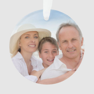#2 Your Photo Ornament or Tag without Candy Canes