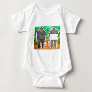 2 Yowie A,text & furry in outback,.JPG Baby Bodysuit