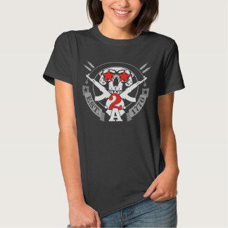 2A (Second Amendment) Est. 1776 Tee Shirts