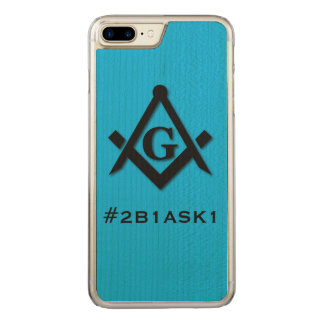 #2B1ASK1 CARVED iPhone 7 PLUS CASE