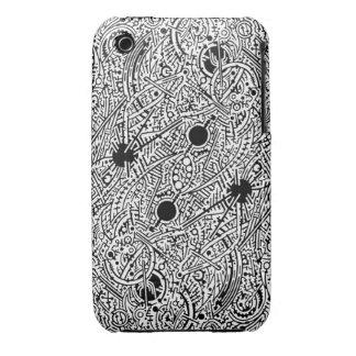 2B Psyart texture Case-Mate iPhone 3 Case