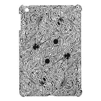 2B Psyart texture -- Universal Seed (crop) neg iPad Mini Covers