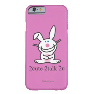 2cute 2talk 2u barely there iPhone 6 case