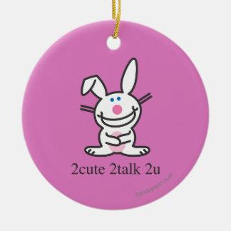 2cute 2talk 2u christmas ornament