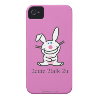 2cute 2talk 2u iPhone 4 case