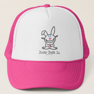 2cute 2talk 2u trucker hat