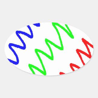 2d89f oval sticker