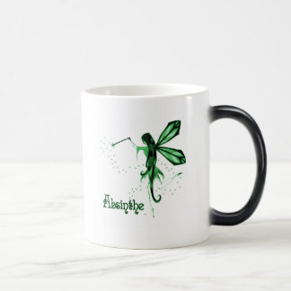 2D Absinthe Green Fairy Sketch Coffee Mug