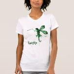 2D Absinthe Green Fairy Sketch T Shirts