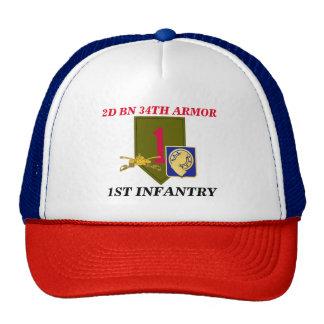 2D BN 34TH ARMOR 1ST INFANTRY HAT