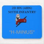 2D BN (ABN) 505TH INFANTRY MOUSEPAD