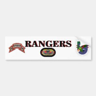 2D Bn (RANGER) 75TH Infantry Bumper Sticker Car Bumper Sticker