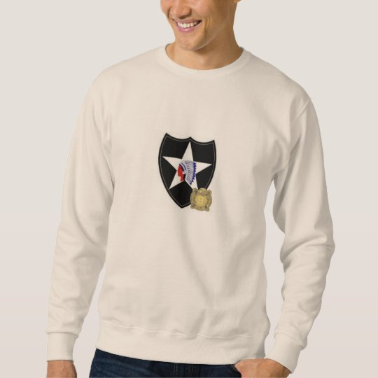 2D Infantry SSI with 9th Inf DUI Sweatshirt
