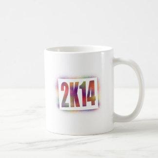 2k14 2014 basic white mug