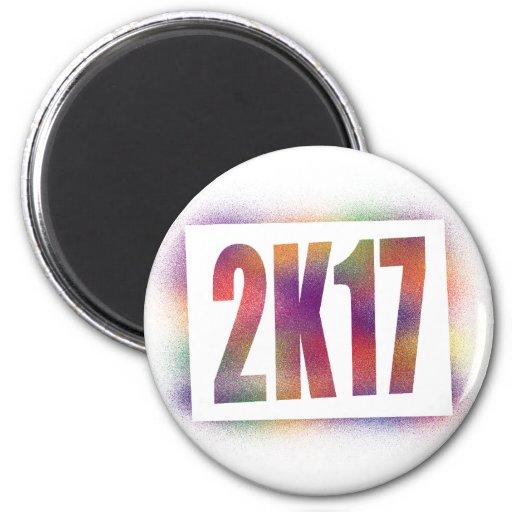 2k17 2017 refrigerator magnet