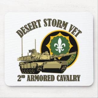 2nd ACR Desert Storm Vet M1 Tank Mouse Mat