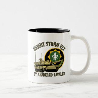 2nd ACR Desert Storm Vet M1 Tank Mug