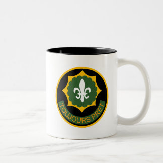 2nd ACR Shoulder Patch Two-Tone Coffee Mug