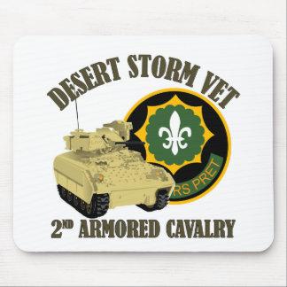 2nd ACR Vet - Desert Storm Bradley Mouse Pad