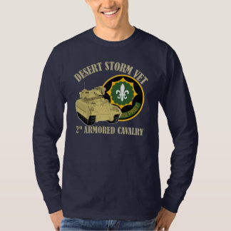 2nd ACR Vet - Desert Storm Bradley T-Shirt