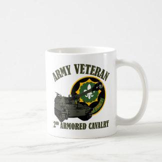 2nd ACR Vet - M109 Howitzer Classic White Coffee Mug