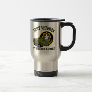 2nd ACR Vet - M113 APC Travel Mug