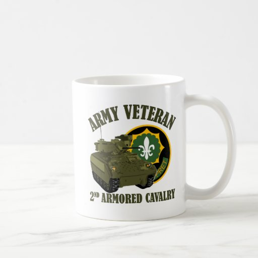 2nd ACR Vet - M2 Bradley Mugs