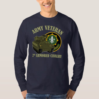 2nd ACR Vet - M2 Bradley T-Shirt