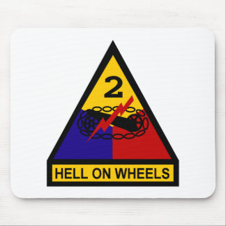 2nd AD Class A Shoulder Patch Mouse Pad