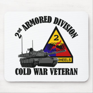 2nd AD Cold War Vet Mouse Pad