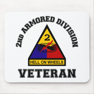 2nd AD Vet - College Style Mouse Pad