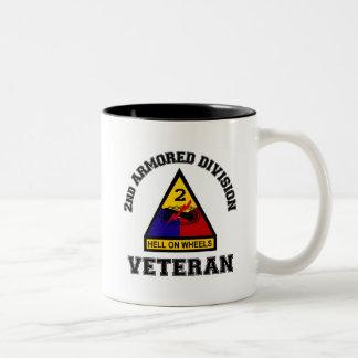 2nd AD Vet - College Style Coffee Mug