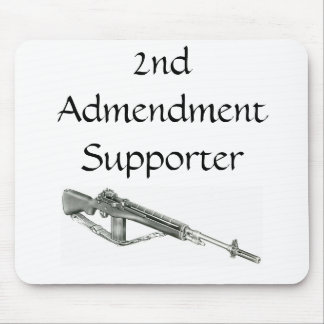 2nd Admendment Supporter Mouse pad