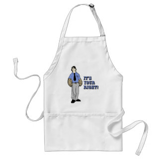 2nd Amendment Bear Arms Standard Apron