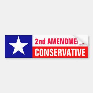 2nd Amendment Conservative Bumper Stickers