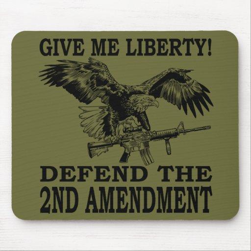 2nd Amendment Eagle Mouse Pad