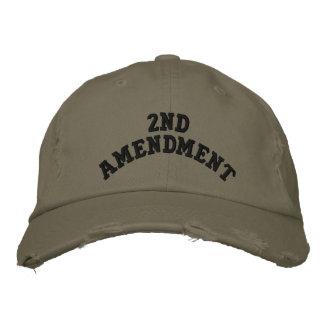 2nd Amendment Embroidered Cap
