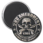 2nd Amendment Medal Magnets