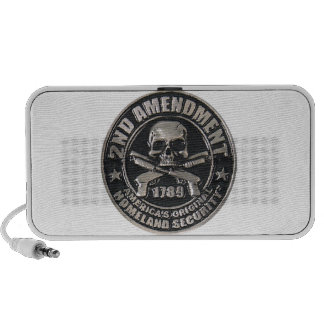 2nd Amendment Medal Notebook Speakers