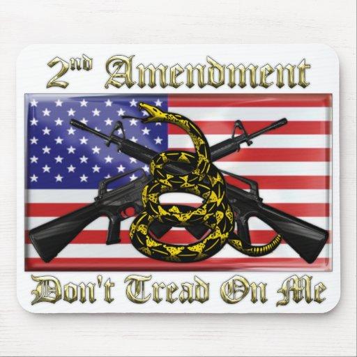 2nd Amendment Mouse Pad