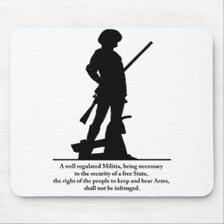 2nd Amendment Mouse Pad